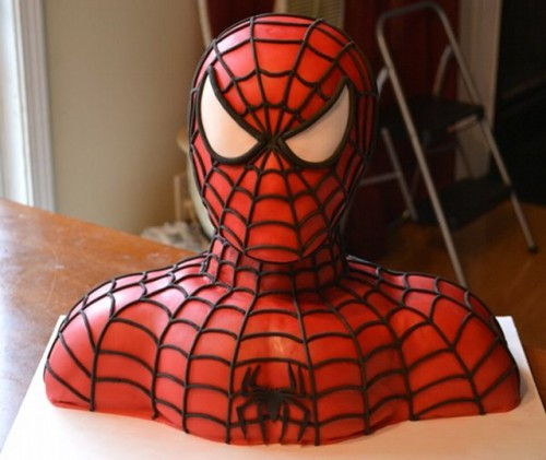 Spider Man Cake Is Pretty Amazing