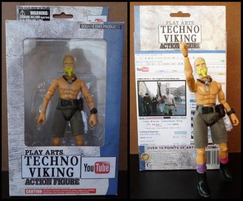 Techno Viking Action Figure Neatorama