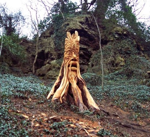 Tommy craggs s amazing tree sculptures neatorama