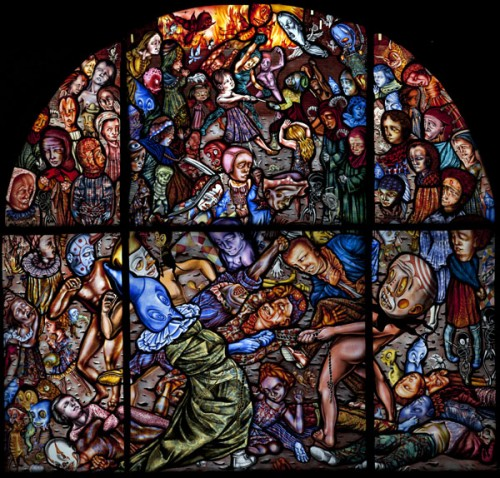 Amazing Stained Glass Artwork By Judith Schaechter