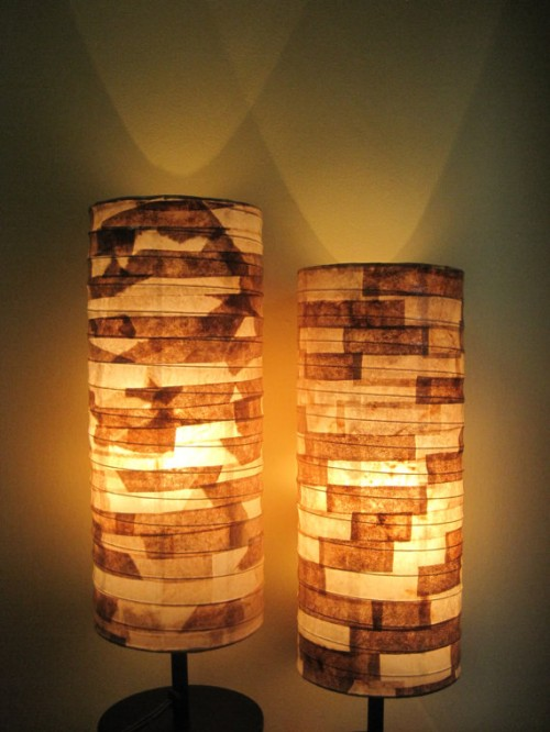 Lampshades Made From Recycled Coffee Filters Neatorama