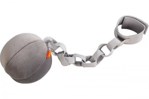 ball and chain. plush ball and chain