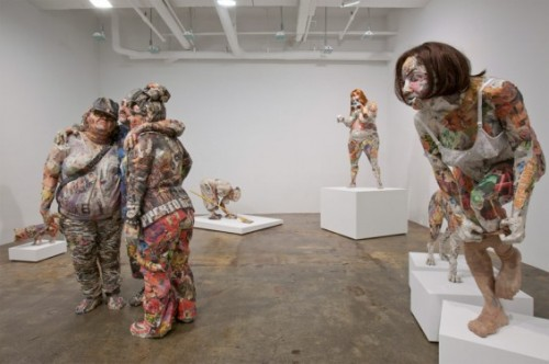 Life Size Figures Made Out Of Trash Neatorama