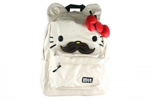 Hello Kitty Backpack With Mustache 367b8372f9371