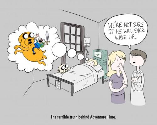 Adventure Time Sad