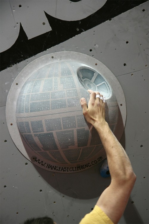 Star Wars Climbing Wall Holds - Neatorama