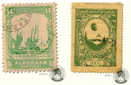 Star Wars Postage Stamps Neatorama