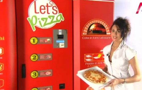 Would You Buy Pizza From A Vending Machine
