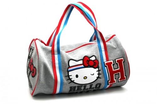 Hello Kitty Gym Duffle Bag 232cfaaaf22ad