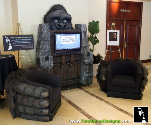 King Kong Themed Furniture For Home Theater Neatorama