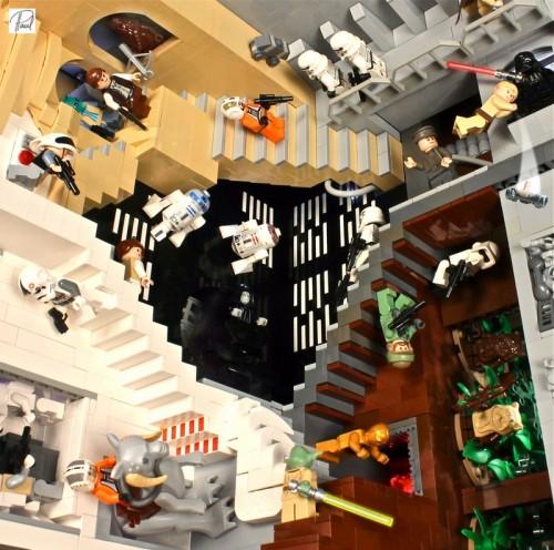 M.c Escher's Lego Star Wars