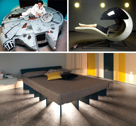 Weirdest Beds 20 weird and cool beds to inspire fantastical dreams - neatorama