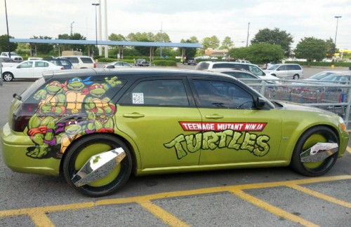 Teenage Mutant Ninja Turtles Station Wagon Neatorama