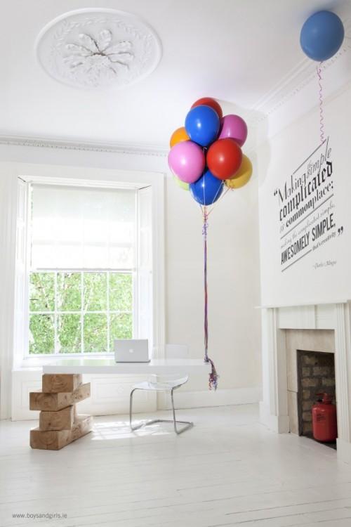 Hot Air Balloon Desk Neatorama