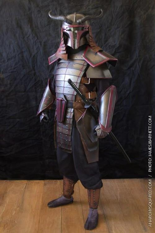 Samurai Boba Fett Cosplay Neatorama