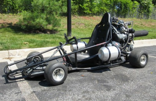 This Jet Powered Go Kart Looks Like Deadly Fun Neatorama