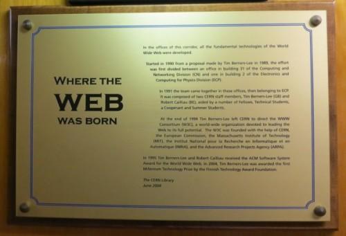 Where the Web Was Born Neatorama