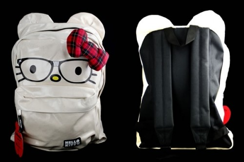 Nerd With Bow Hello Kitty Backpack 450c3d7a82315