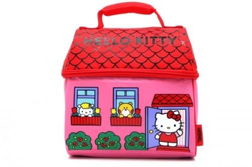 Hello Kitty House Insulated Lunch Kit Neatorama
