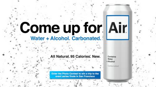 Water Flavored Alcoholic Beverage Neatorama