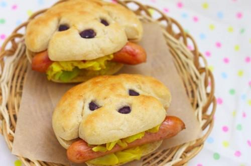Σάντουιτς σε σχήμα σκύλου...