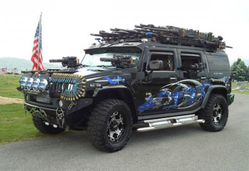This Hummer Has A Little Too Much Firepower Neatorama