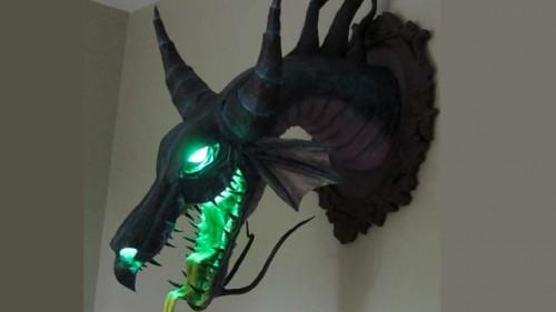 Awesome Maleficent Wall Mount Neatorama